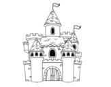 Disegno di Castello di fantasia da colorare