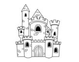 Disegno di Castello di storia da colorare