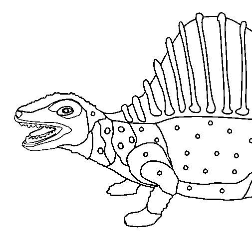 Disegno Di Dinosauro Da Colorare