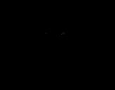 Dibujo de Gallo lunatico