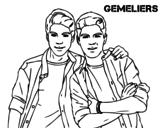 Disegno di Gemeliers da colorare