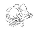 Disegno di Ghoul da colorare