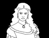 Dibujo de Katherine Von Swartzschild di Il diario del vampiro