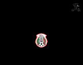Disegno di Maglia dei mondiali di calcio 2014 del Messico da colorare