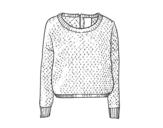 Disegno di Maglione di lana da colorare