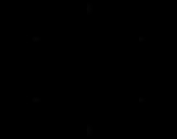 Disegno di Mandala simmetrica da colorare