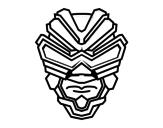 Dibujo de Maschera di raggi gamma