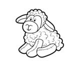 Disegno di Pecore ripiene da colorare