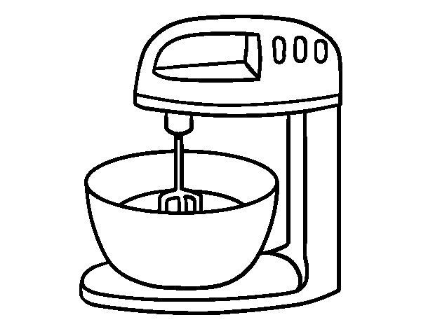 Disegni di cucina vettore cartone animato