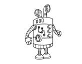 Disegno di Robot periscopio da colorare