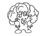 Disegno di Signor brocoli da colorare