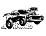 Dibujo de Sportivo muscle car