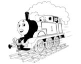 Disegno di Thomas lovomotiva 1  da colorare