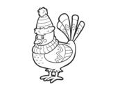 Disegno di Uccello caldo da colorare