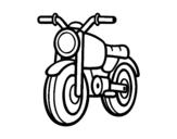 Disegno di Un motorino da colorare