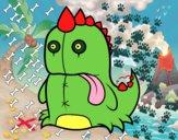 Dinosauro monstruoso