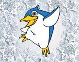 Pinguino minore blu