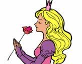 Principessa e rosa