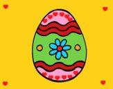 Uovo di Pasqua margherita