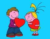 Bambini in San Valentino
