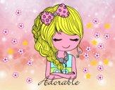 Adorabile ragazza