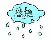 Nube piangere
