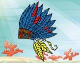 Corona di piume indiana