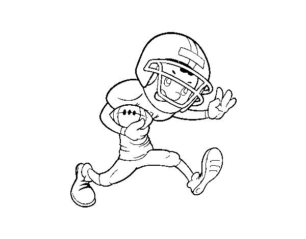 Disegni Da Colorare E Stampare Rugby.Disegno Di Ala Rugby Da Colorare Acolore Com