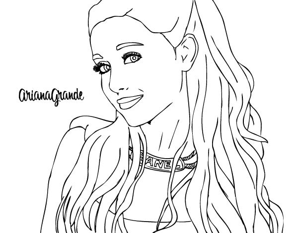 Ariana Grande Coloring Pages Fresh Celebrities Coloring Pages
