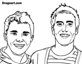 Dibujo de Big time Rush 3