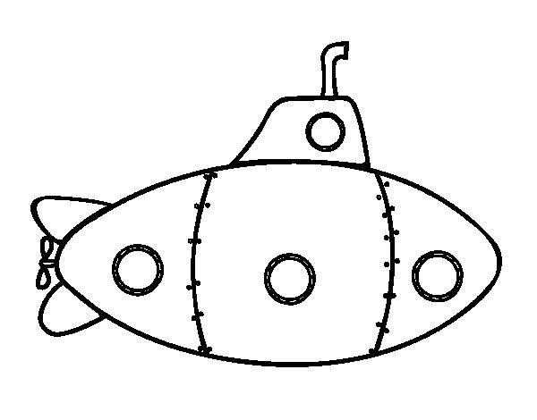 Disegno Di Sottomarino Militare Da Colorare Acolore Com