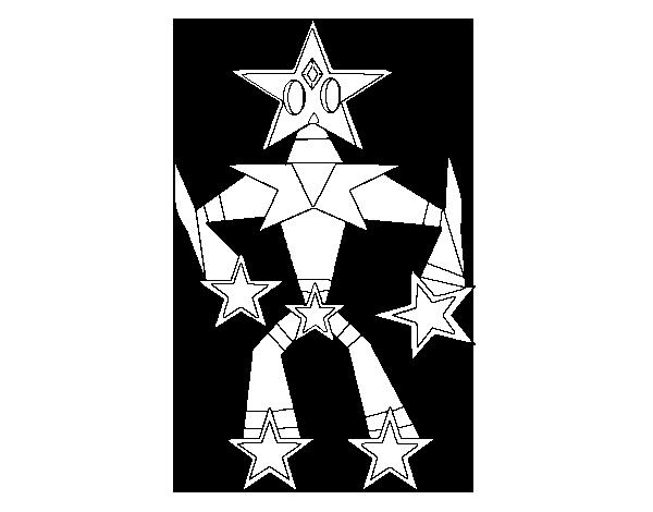 Disegno Di Transformer Stella Da Colorare Acolorecom