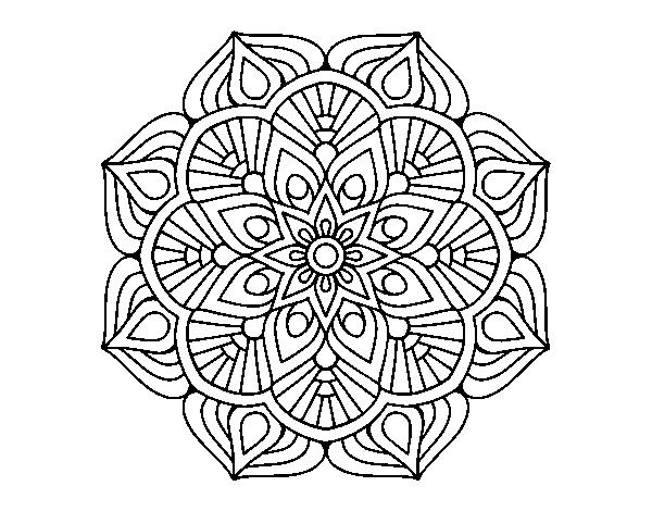 Mandala Da Colorare Online