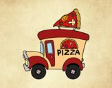 Food truck di pizza